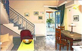 Elia suite - living area